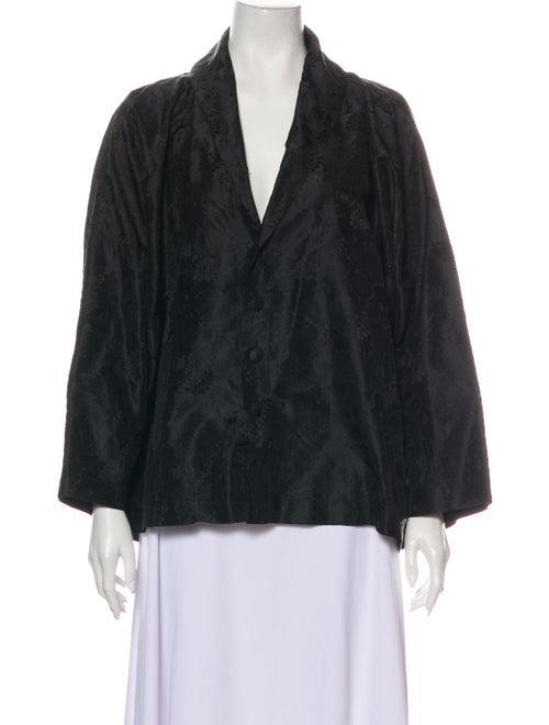 Eskandar Silk Jacket Black
