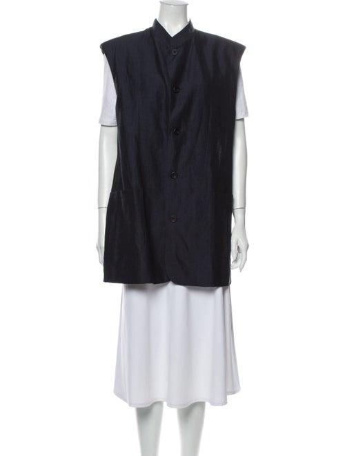 Eskandar Virgin Wool Vest Wool