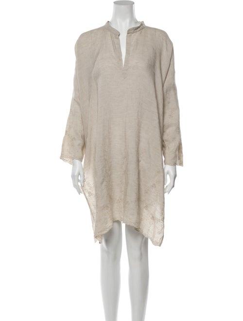 Eskandar Linen Mini Dress