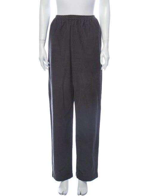 Eskandar Wide Leg Pants Grey