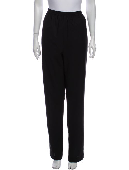 Eskandar Wool Straight Leg Pants Wool