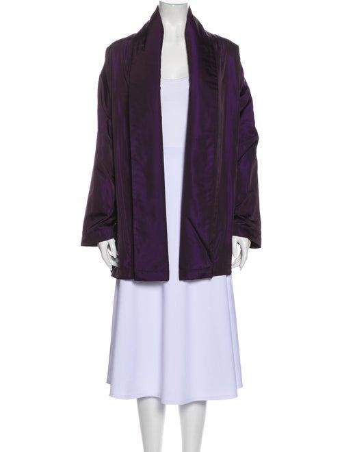 Eskandar Coat Purple