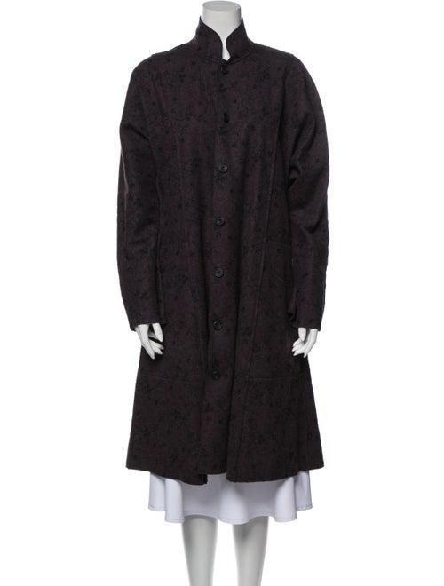 Eskandar Wool Coat Wool