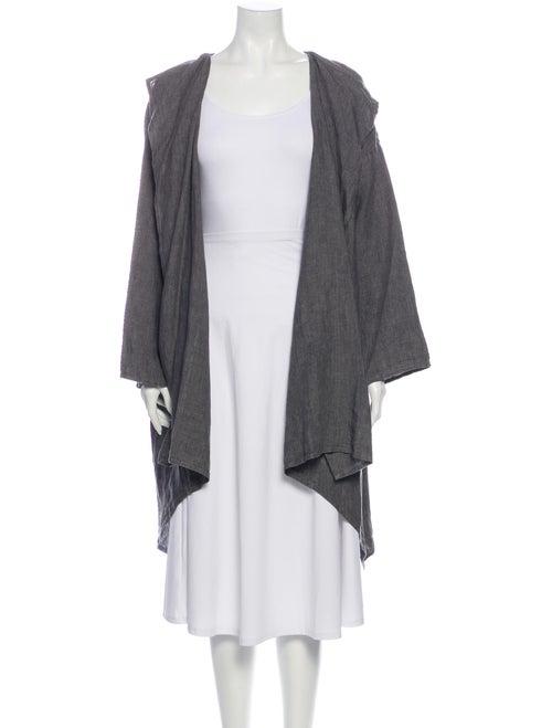 Eskandar Linen Robe w/ Tags Grey