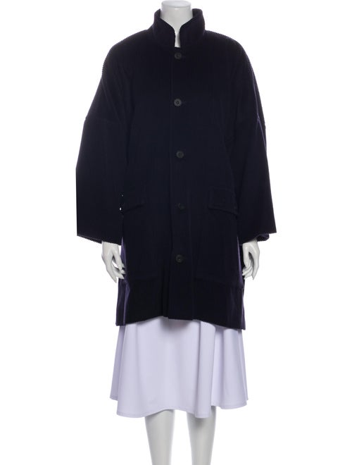 Eskandar Orylag Coat Blue