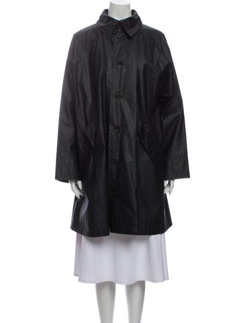 Eskandar Trench Coat Black