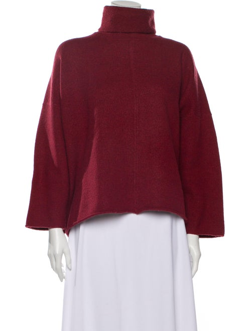 Eskandar Merino Wool Turtleneck Sweater Wool