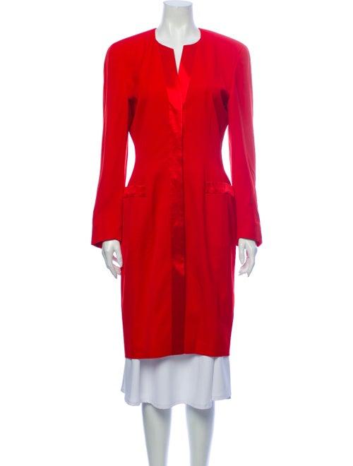 Escada Margaretha Ley Wool Coat Wool