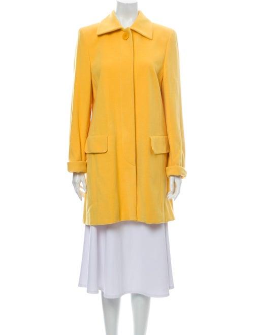 Escada Margaretha Ley Angora Peacoat Yellow