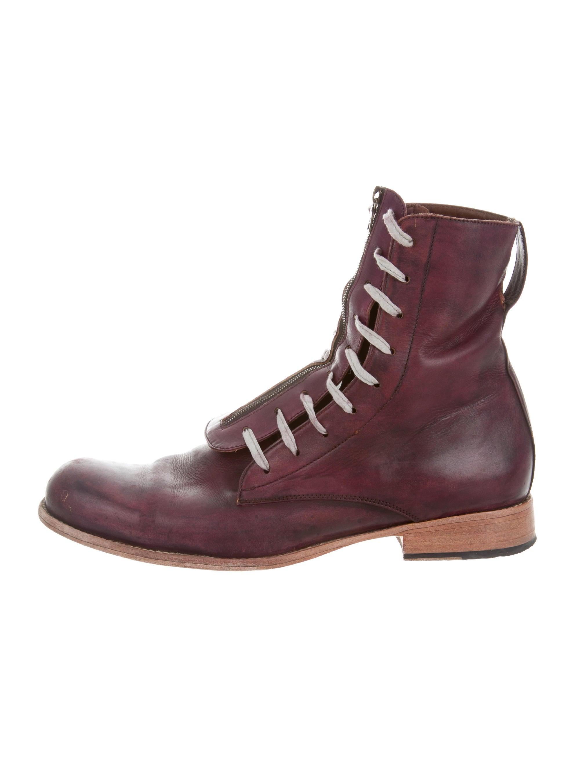 esquivel leather lace up ankle boots shoes esq20089