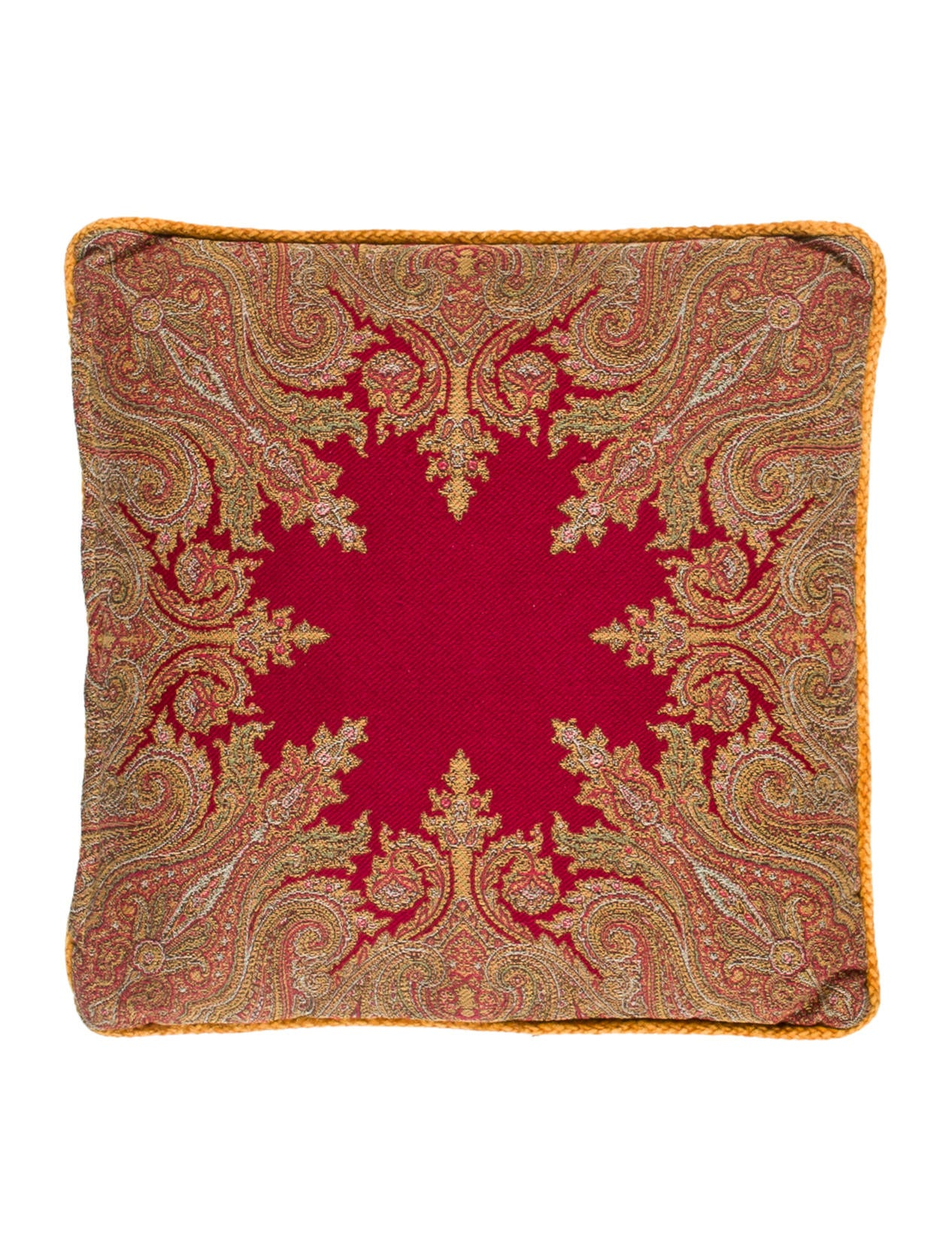 Decorative Pillows Retail : Etro Home Patterned Throw Pillow - Bedding And Bath - ETH20126 The RealReal