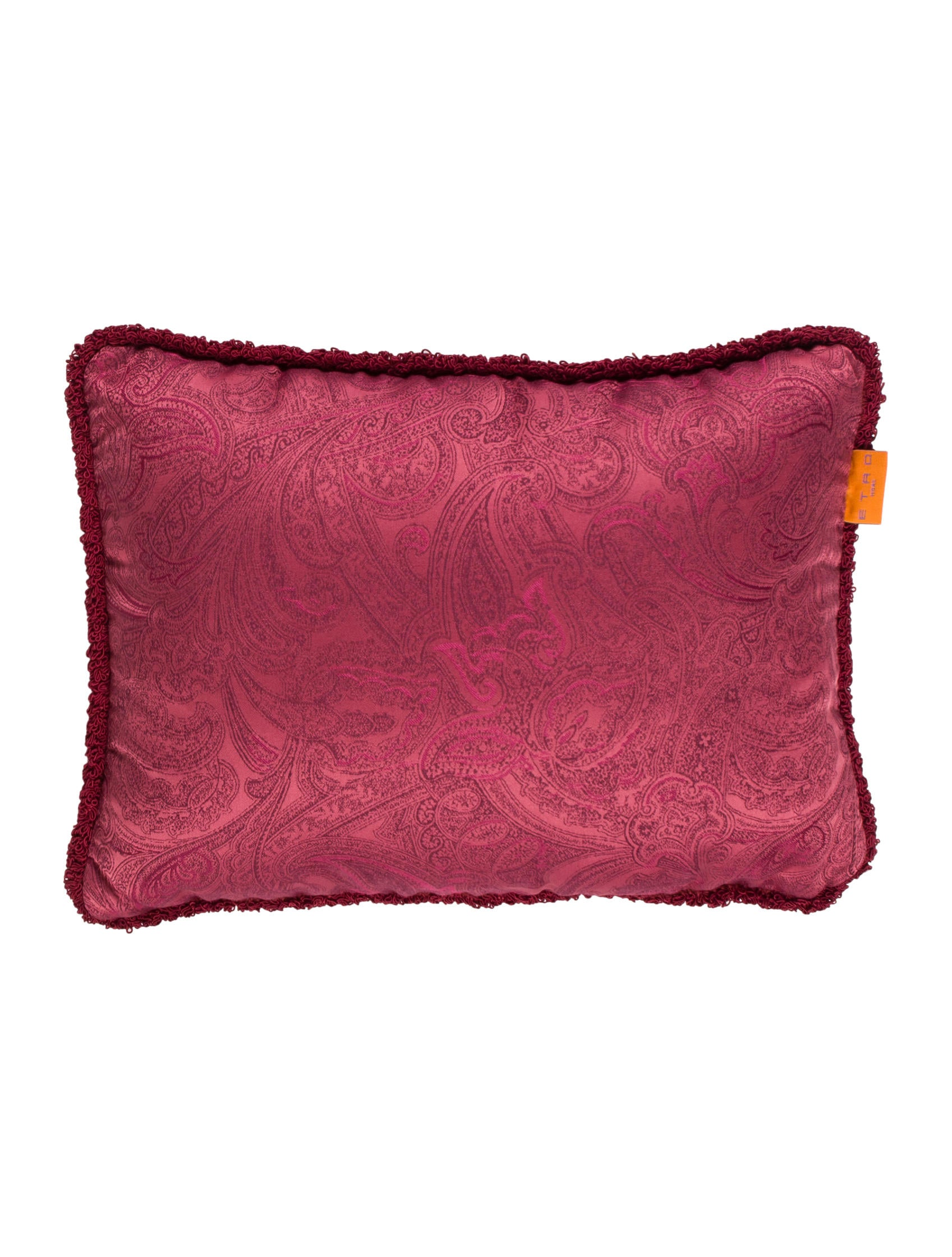 Jacquard Throw Pillows : Etro Home Paisley Jacquard Throw Pillow w/ Tags - Bedding And Bath - ETH20139 The RealReal