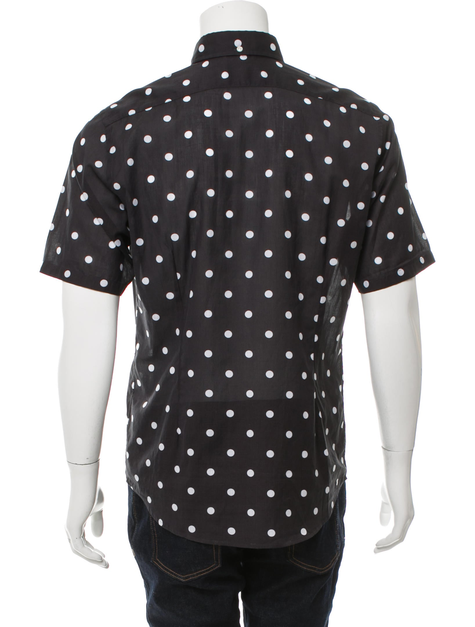 Eton Polka Dot Button Up Shirt W Tags Clothing