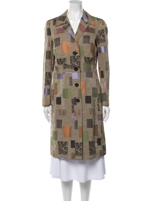 Etro Silk Printed Coat