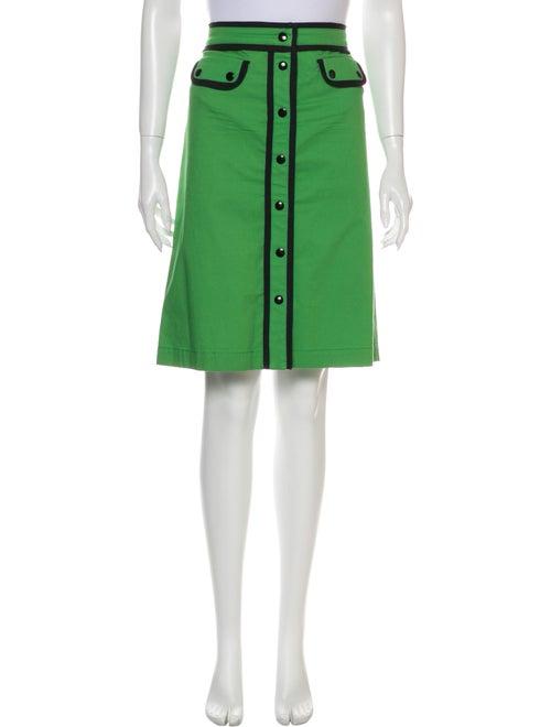 Etro Knee-Length Skirt Green