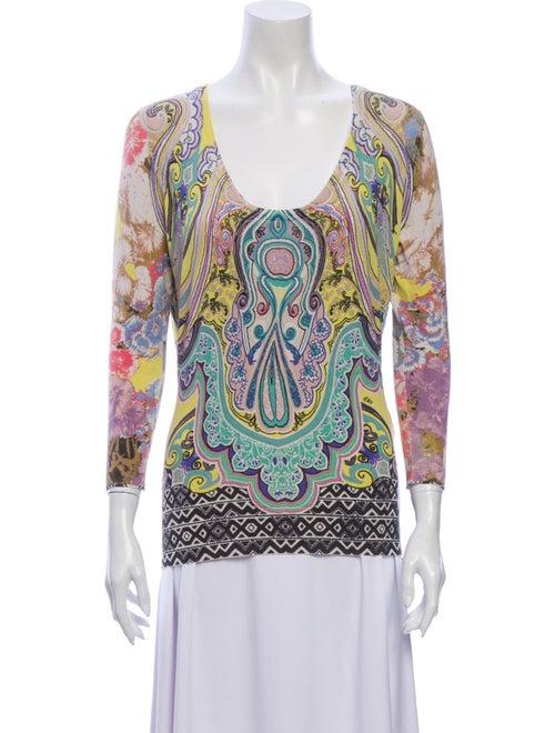 Etro Silk Printed Sweater