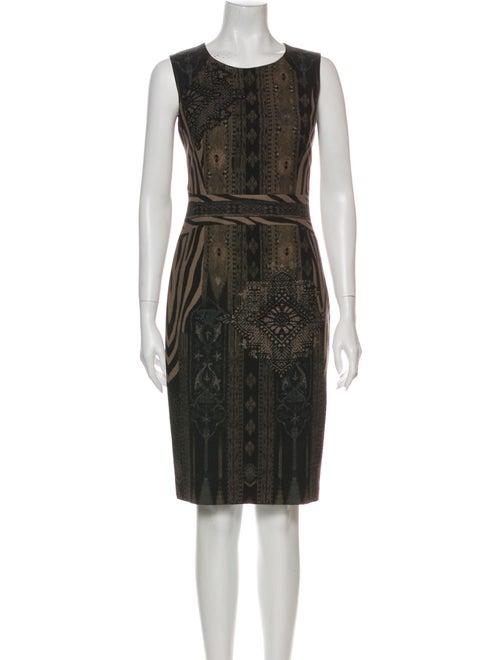 Etro Wool Knee-Length Dress Wool