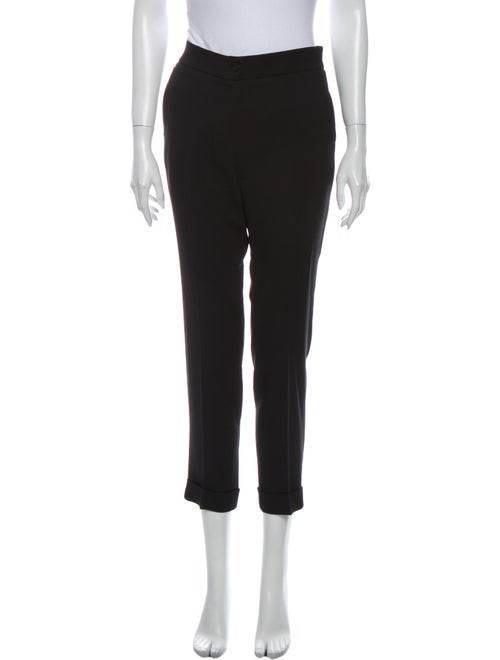 Etro Straight Leg Pants Black