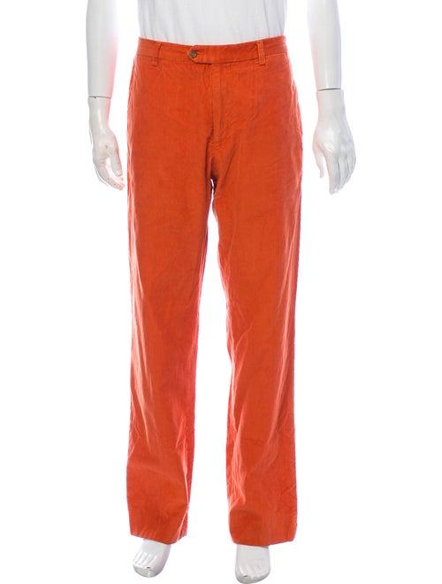Etro Corduroy Pants Orange
