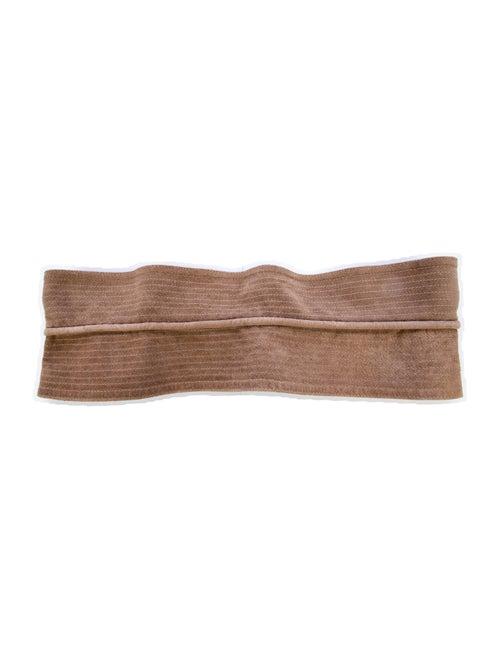 Etro Suede Waist Belt gold