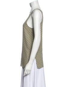 Etro Silk Printed Top