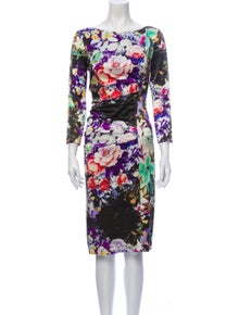 Etro Silk Knee-Length Dress