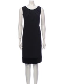 Etro Wool Knee-Length Dress