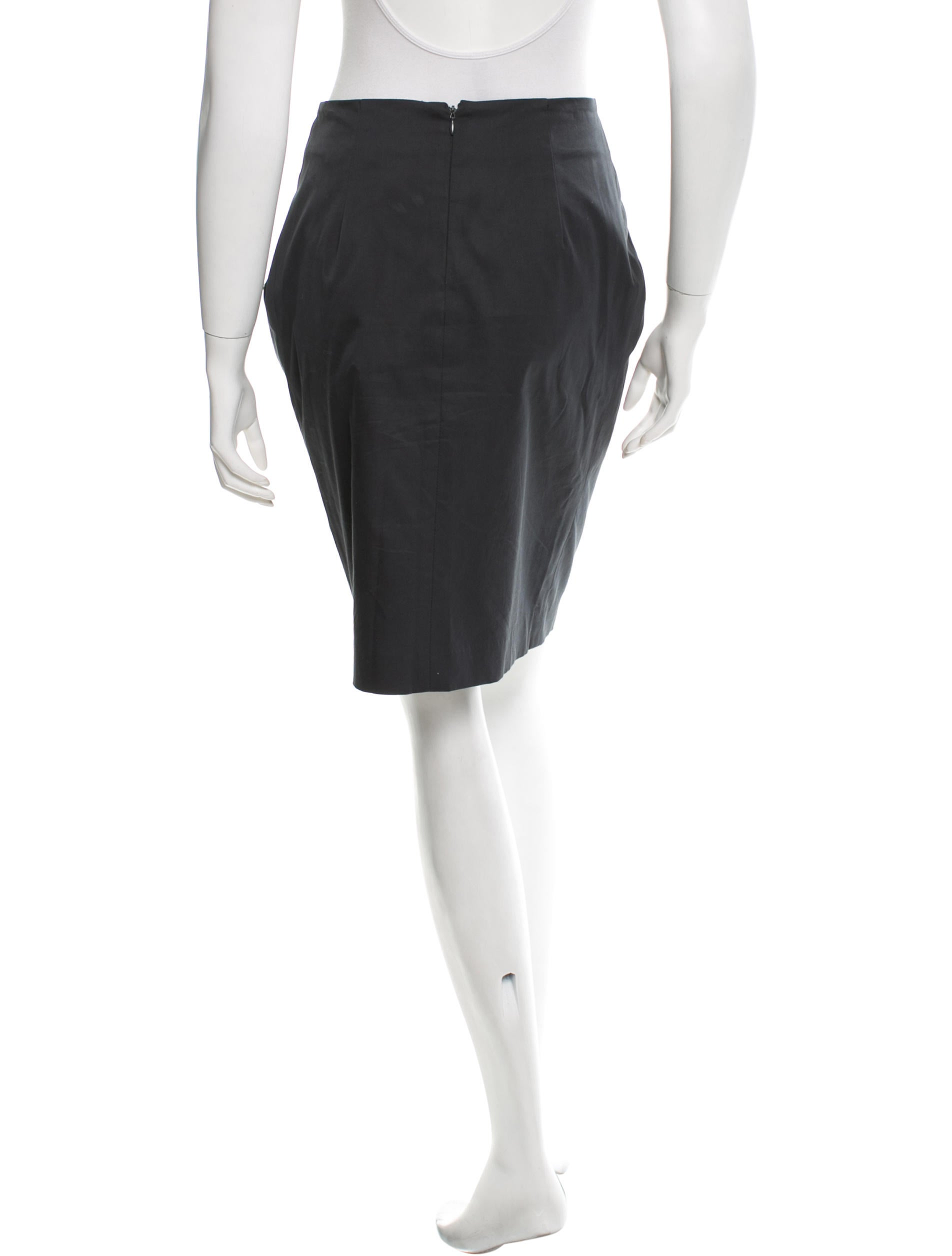 etro pleated pencil skirt clothing etr33298 the realreal