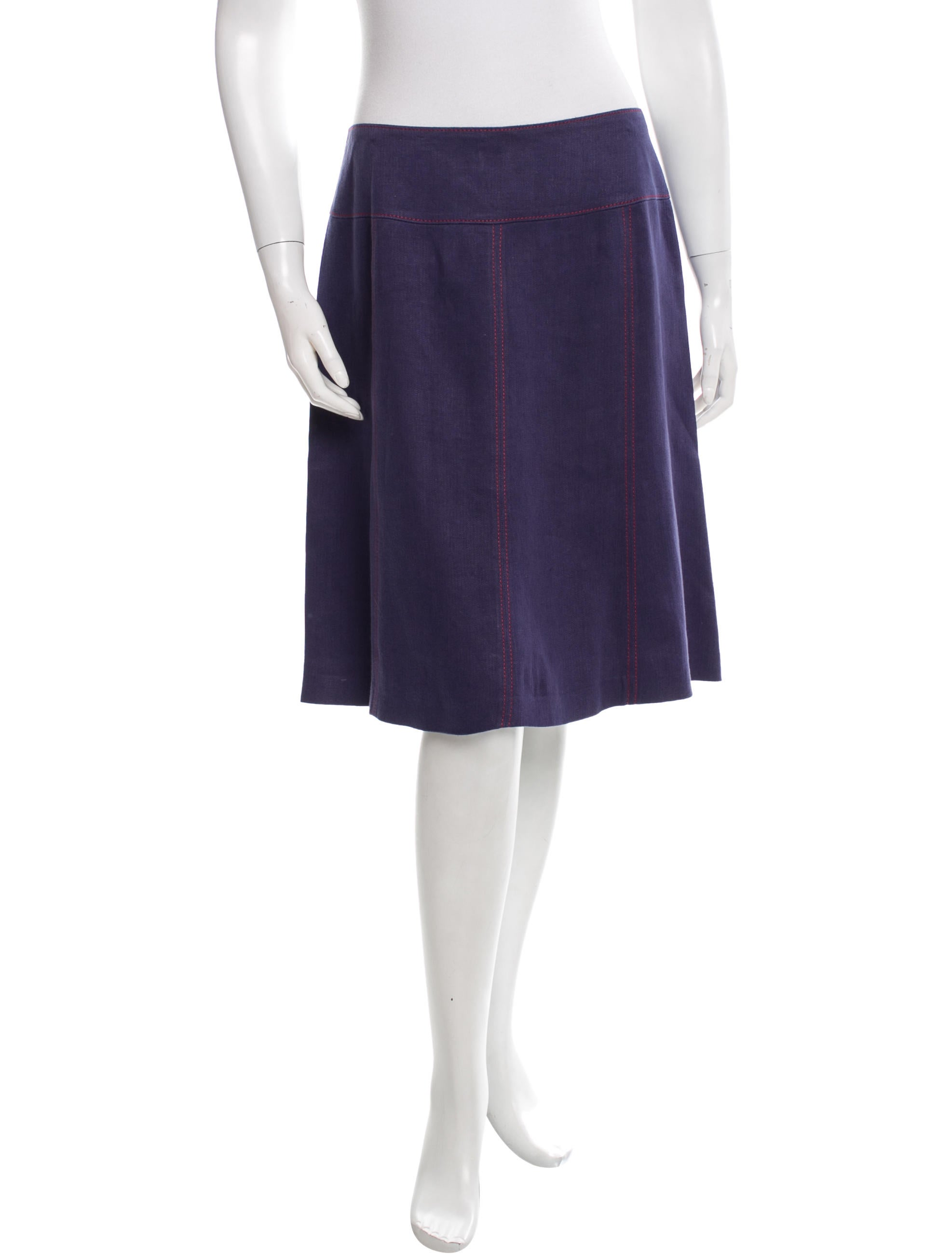 etro flared midi skirt clothing etr33766 the realreal