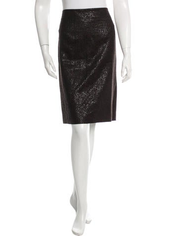 Etro Patterned Knee-Length Skirt