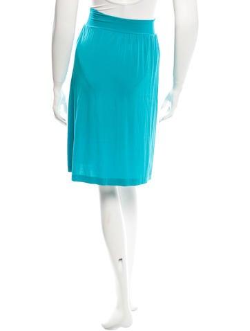 etro jersey knit knee length skirt clothing etr38868