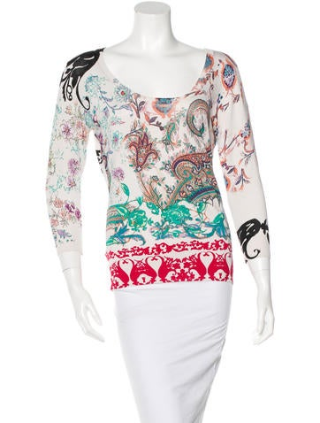 Etro Silk Printed Top None