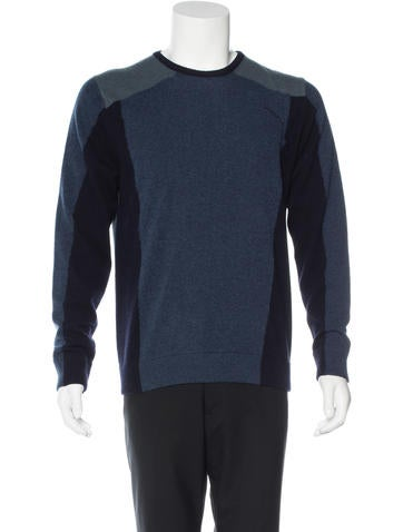 Etro Wool Crew Neck Sweater None