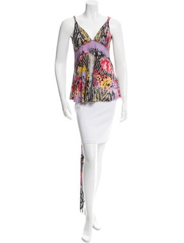 Etro Mixed Print Sleeveless Top None