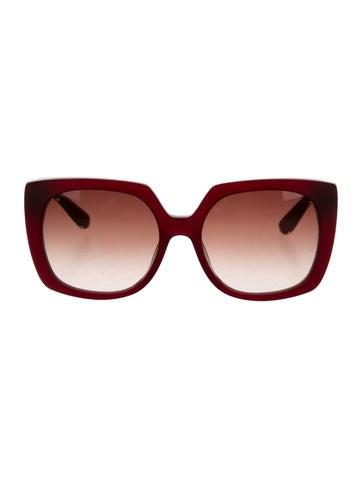 Logo-Embellished Oversize Sunglasses