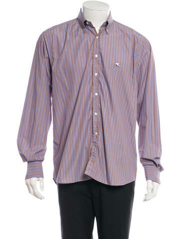 Etro Long Sleeve Button-Up Shirt None