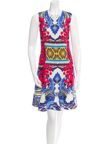 Etro Sleeveless Paisley Dress
