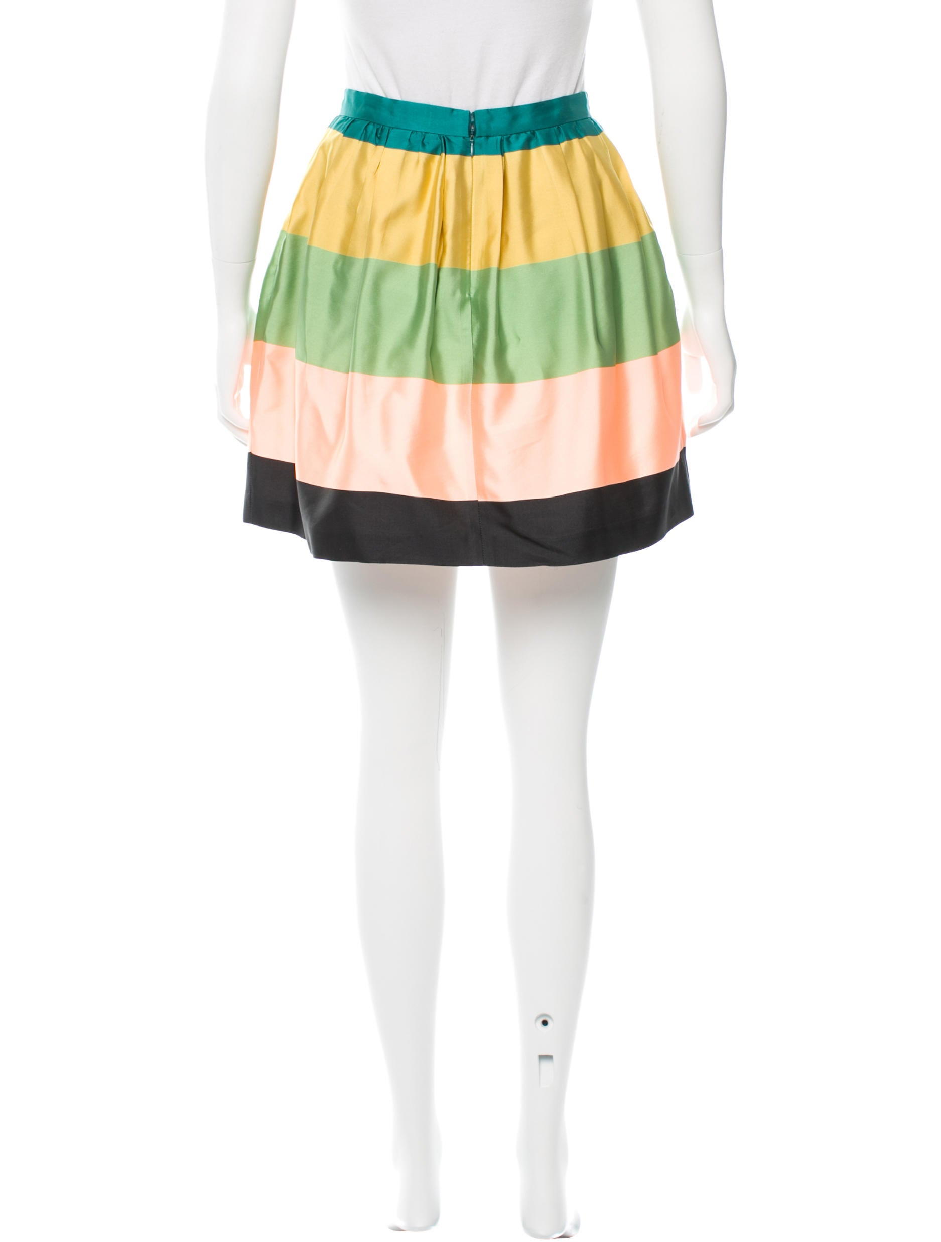 etro striped a line skirt clothing etr40322 the realreal