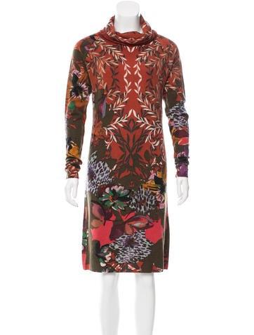 Etro Wool Printed Dress None