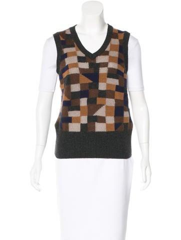 Etro Wool Sweater Vest None