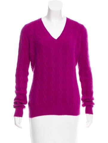 Etro Cashmere-Blend V-Neck Sweater None