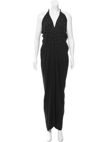 Etro Embellished Evening Dress