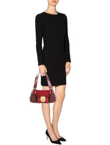 Ponyhair & Leather Shoulder Bag