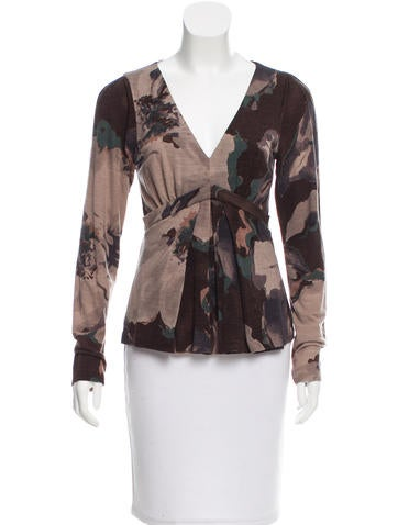 Etro Wool Printed Top None