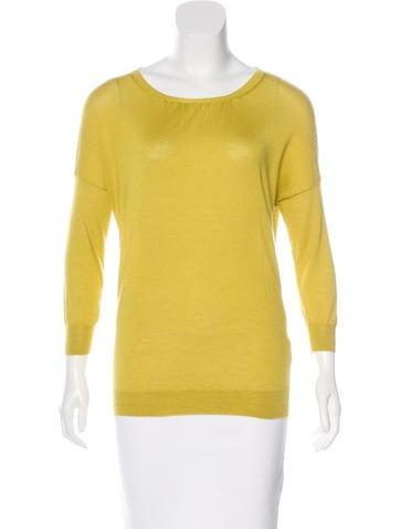 Etro Cashmere & Silk-Blend Sweater None