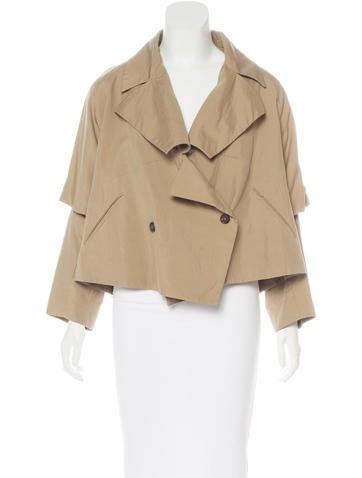 Etro Cropped Oversize Jacket