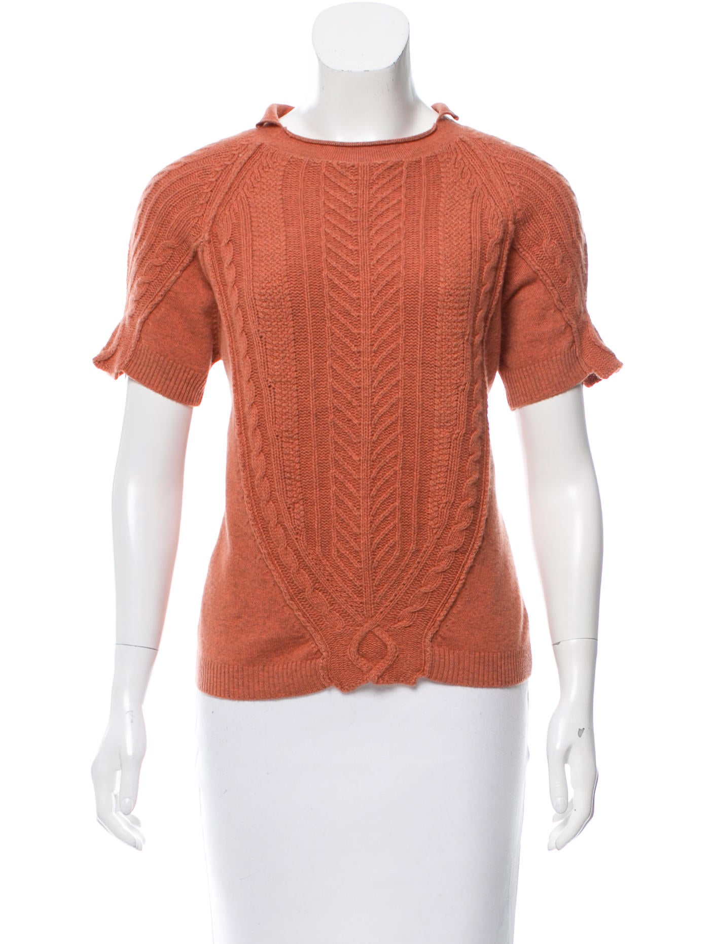 Etro merino wool cashmere blend sweater w tags for Merino wool shirt womens