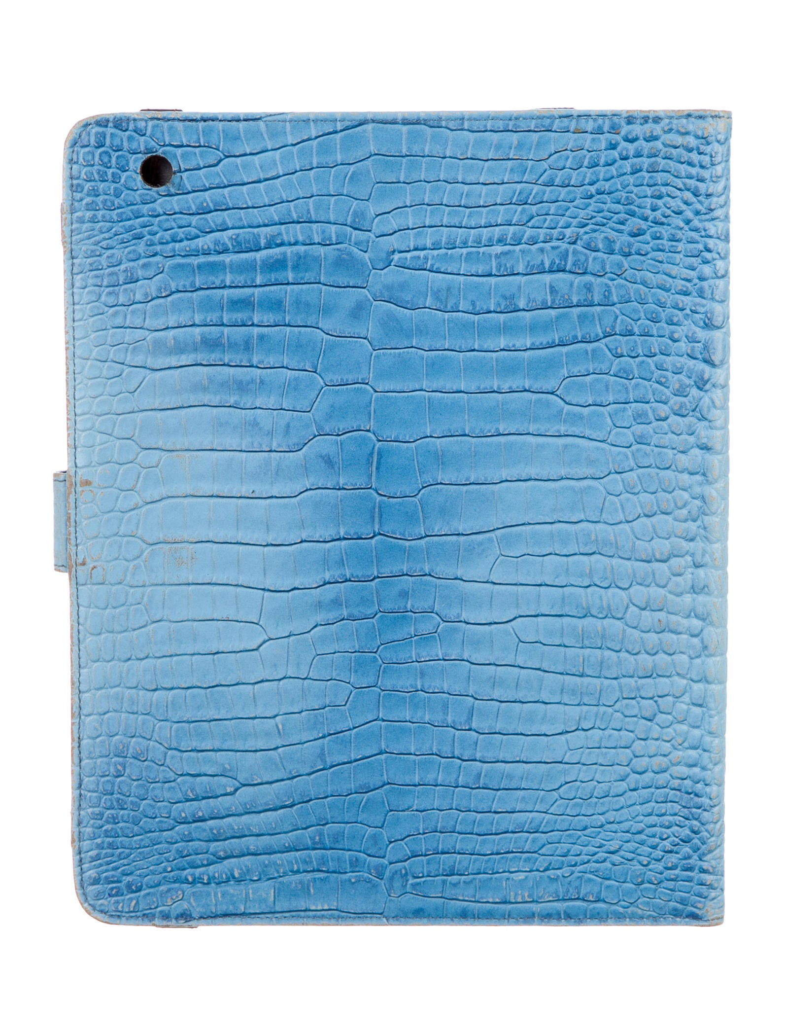 Etro Embossed Leather Tablet Case Technology Etr43236