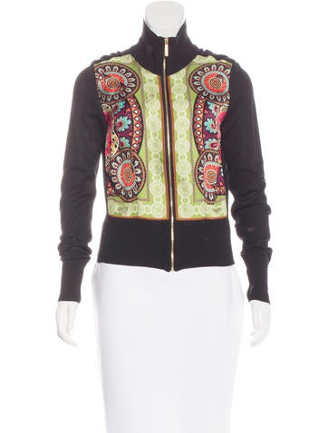 Etro Silk-Trimmed Paisley Print Jacket None