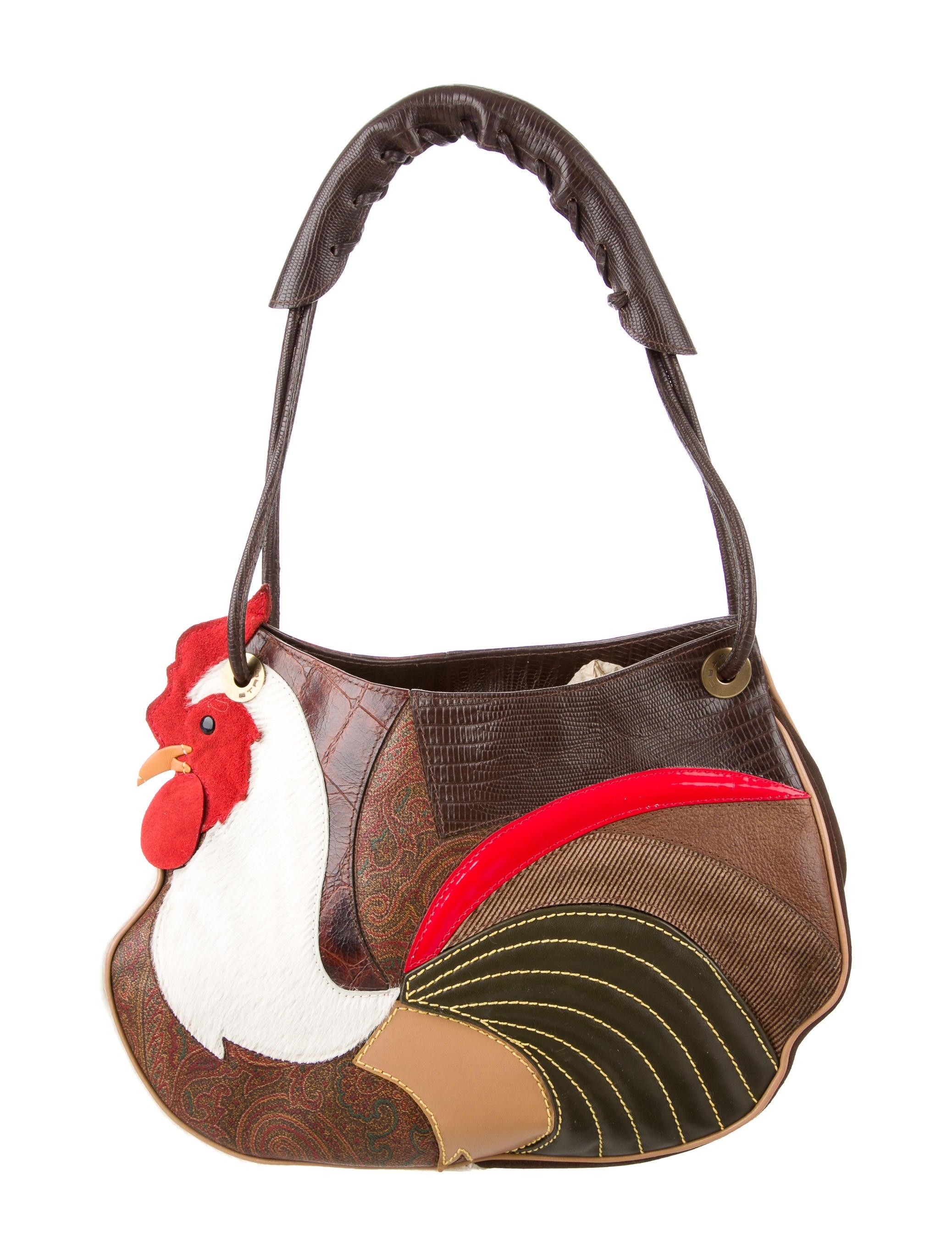 Etro Patchwork Embossed Chicken Bag Handbags Etr44144